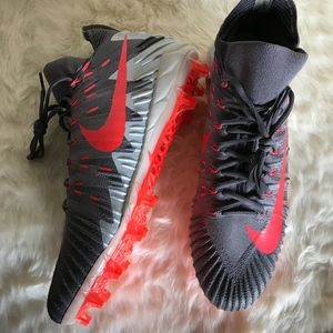 Nike Shoes - NEW NIKE ALPHA MENACE ELITE CLEATS 'GREY PUNCH'